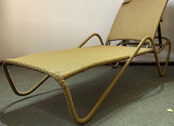 Wave Sun Lounger S (Khakis) (65x198x30cm)