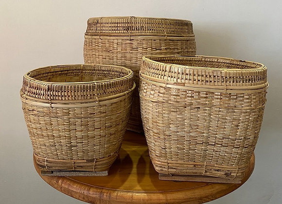 Orchid Baskets Set of 3 (D40xH39,D32xH30,D27xH26cm)