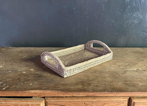 Morning Tray S (White Washed) (30x20x4cm)