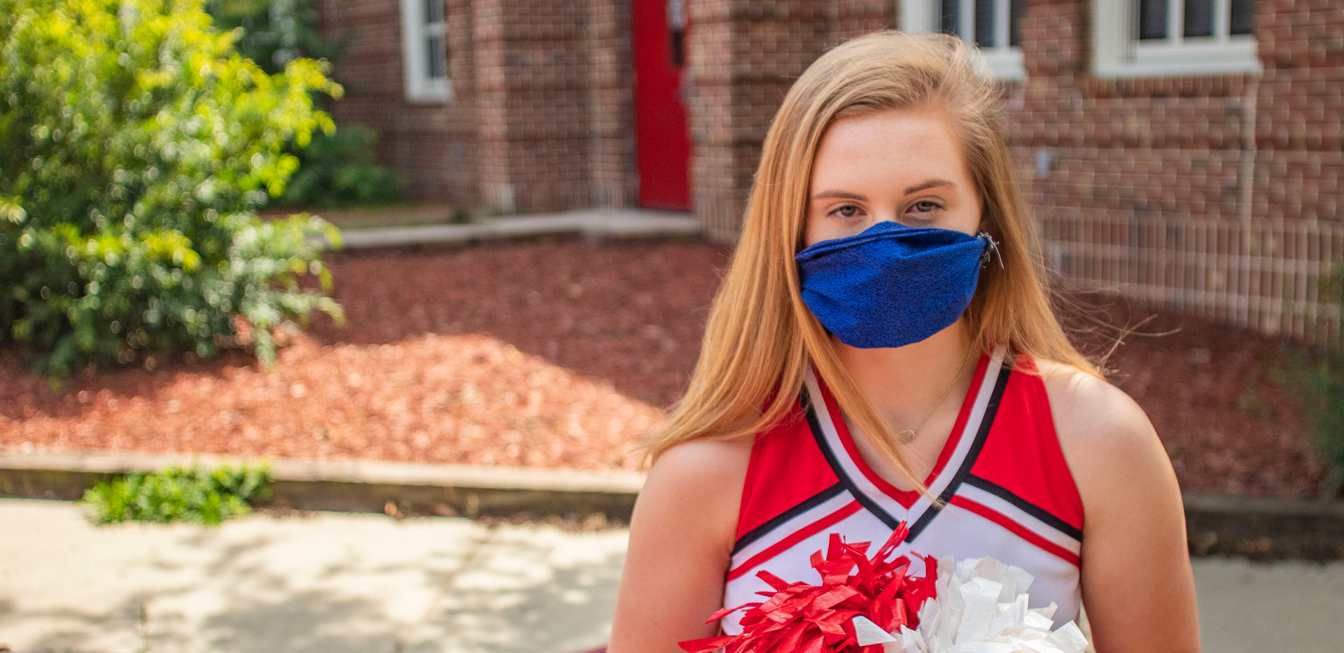 McKenna Laughlin, 18, misses seeing some of her teachers who she formed close bonds with this school year. McKenna is a senior and cheer captain at Leon High School, who will be graduating and attending Florida State University in the fall.
