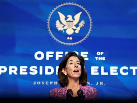 Senate confirms Gina Raimondo as commerce secretary; Mckee sworn in as R.I.'s 76th governor