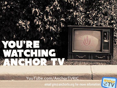 Attention Film and Communications majors; Anchor TV is for you