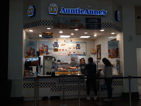 Auntie Anne's Pretzels to save the day