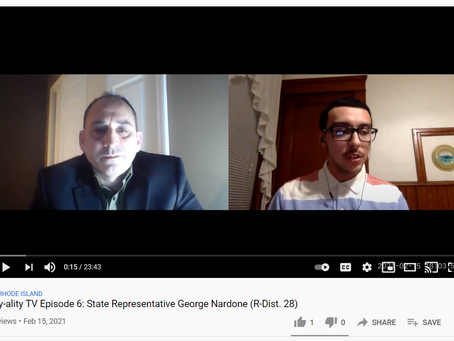 Interview with Rep. George Nardone (R-Dist. 28)