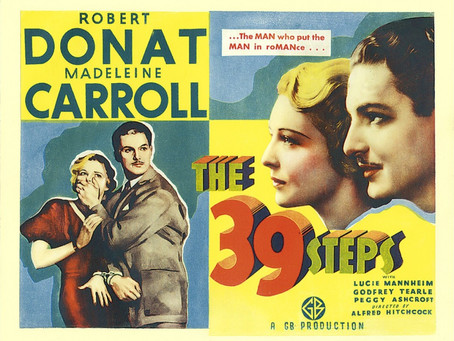 Thriller or Rom-Com: In what direction is The 39 Steps?