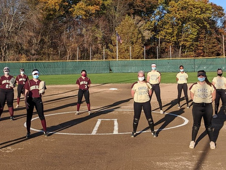 Gold Dominates Maroon 8-3 in Exhibition Game