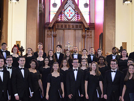 RIC Concert Chorus earns first Grammy consideration in college history