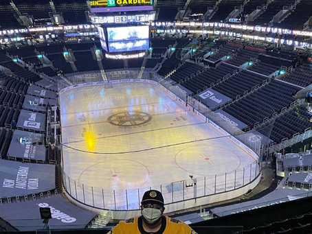 They may have lost, but my experience at the Bruins Game was a big win