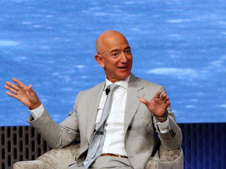 Bezos Steps Down as CEO of Amazon