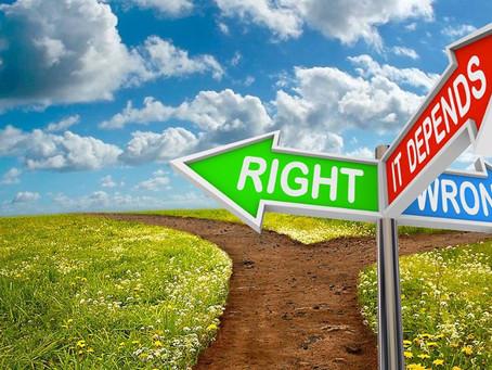 "Am I ""right"" or am I right?"