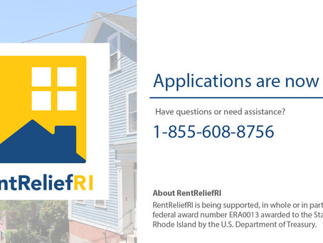 Rhode Island renters helped by $50 million RentRefliefRI assistance