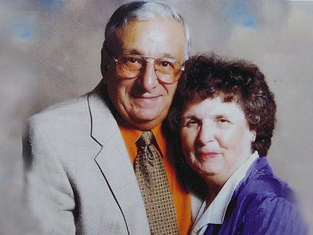 Late Virginia and Anthony Broccoli establish a scholarship to help RIC seniors