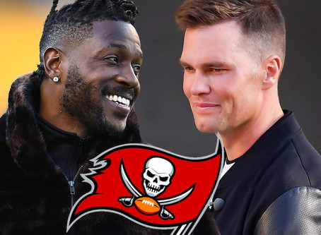 """Antonio Brown signing with the Buccaneers was because of Tom Brady's """"affinity"""" for him"""