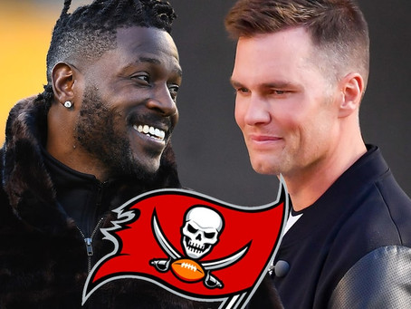 "Antonio Brown signing with the Buccaneers was because of Tom Brady's ""affinity"" for him"