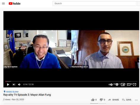 Interview with Cranston Mayor Allan Fung