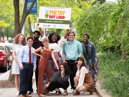 National Poetry out loud 2021-2022