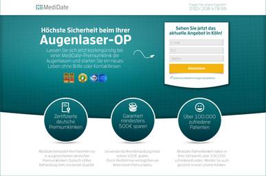 Madidate - Landing Page