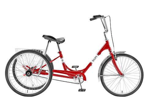 Sun Bicycles Traditional 24 7 speed trike