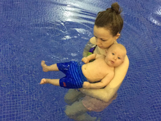 First Time Swimming With Your Baby - What to expect