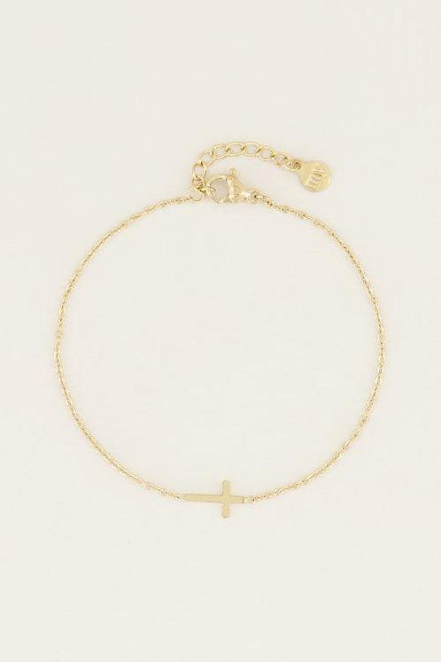 Armband klein kruisje