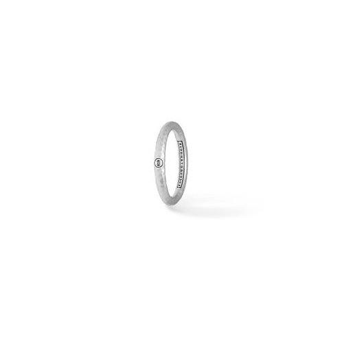 324 Dunia Hammered Matt Ring
