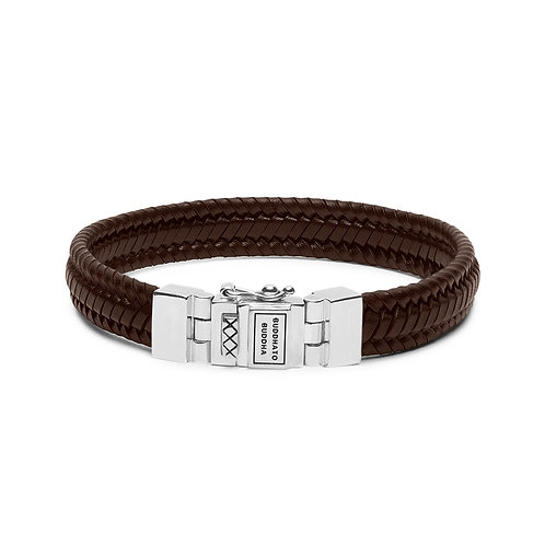 181 Edwin Small Leather Brown Bracelet