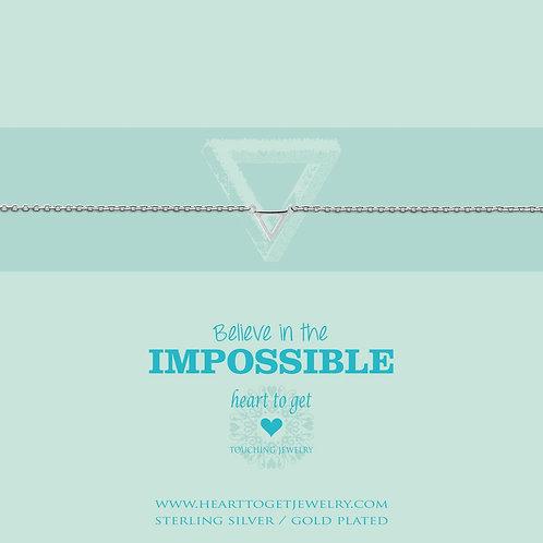 Small Triangle Bracelet