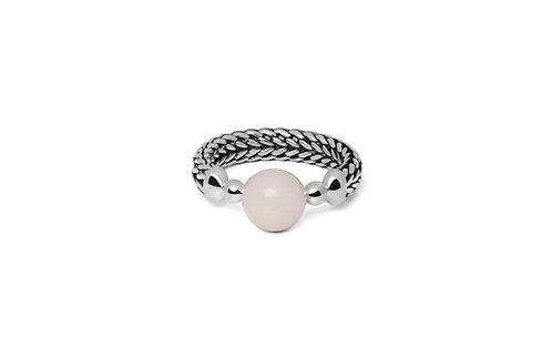 004 Batas Sphere Rosequart Ring