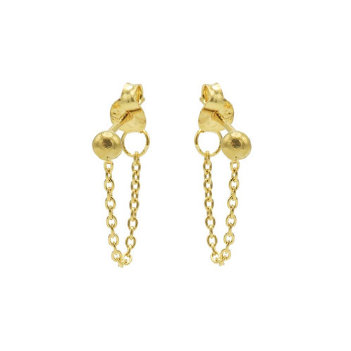 Oorbellen Chain Pin