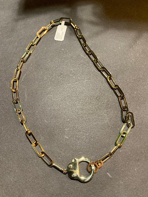Ketting Handcuff - Goud