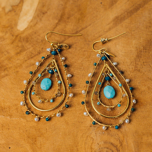 Orphee Turquoise Earring