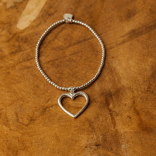 Bracelet Tiny Wishes Open Heart
