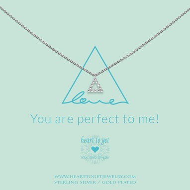 You are perfect to me Necklace