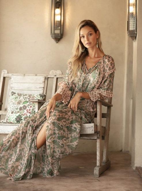 Maxi jurk Wild Rose