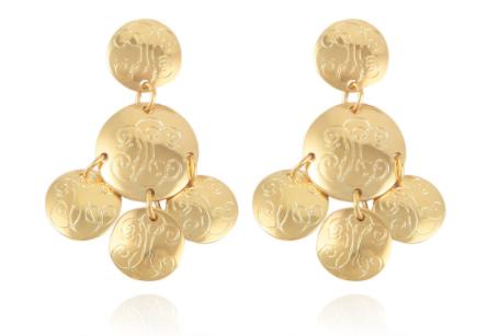 Sequin Diva Earrings