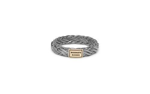 605 Katja Black Rhodium Shine Gold Ring