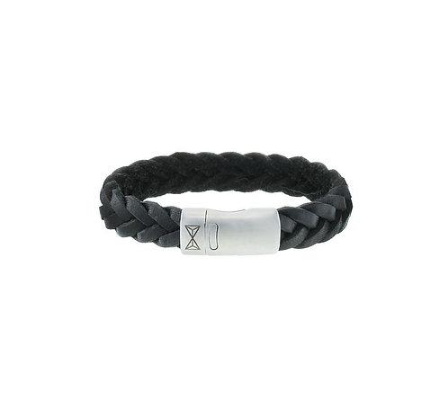 Iron Big Wave Black Bracelet