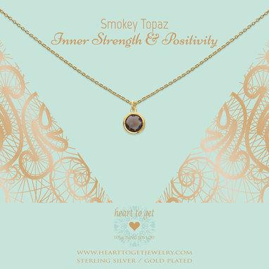 Gemstone Black Necklace