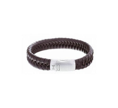 Twisted Wave Brown Bracelet
