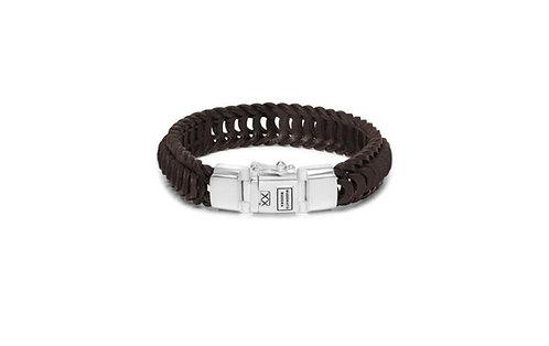 122 Lars Leather Brown Bracelet