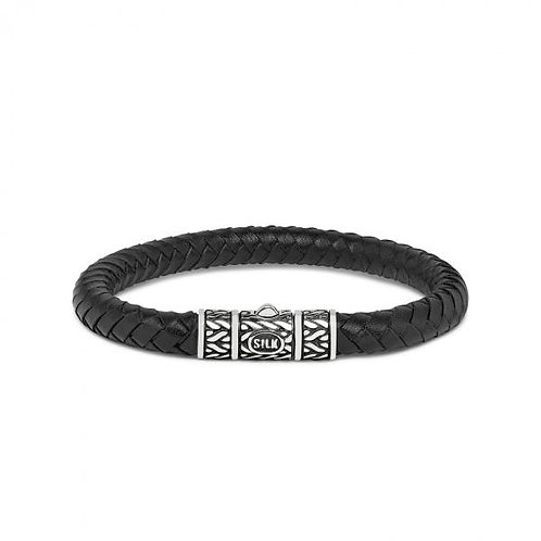 156 Armband Zwart Roots