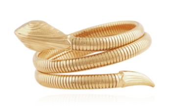 Serpent Bracelet Gold