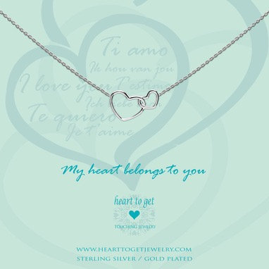 My heart belongs to you necklace