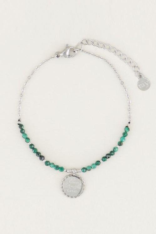 Armband Bedel & Malachite
