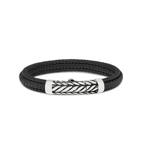 158 Armband Zwart Zipp