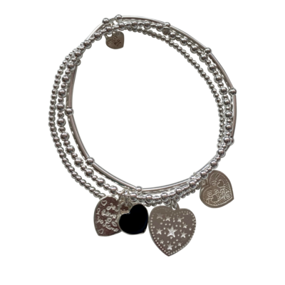 Bracelet Set Sicily Etoiles Zwart