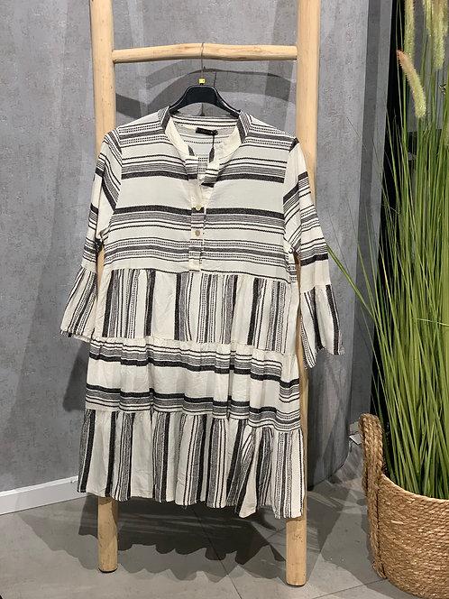 Aztec Dress Zwart