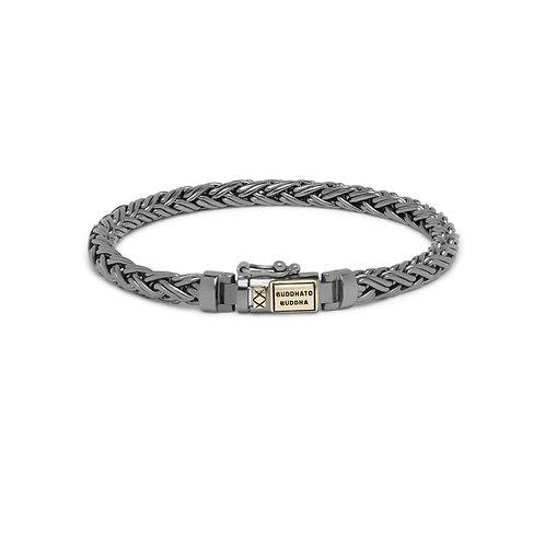 J170 Katja XS Black Rhodium Gold Bracelet