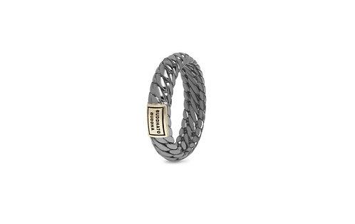 125 Ben XS Black Rhodium Shine Gold Ring