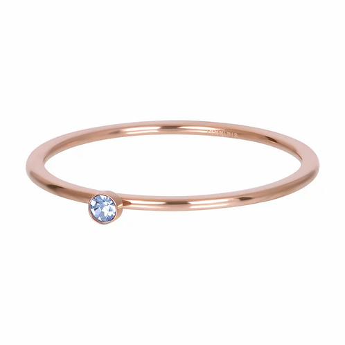 Vulring Light Sapphire 1 Stone Rosé 1mm
